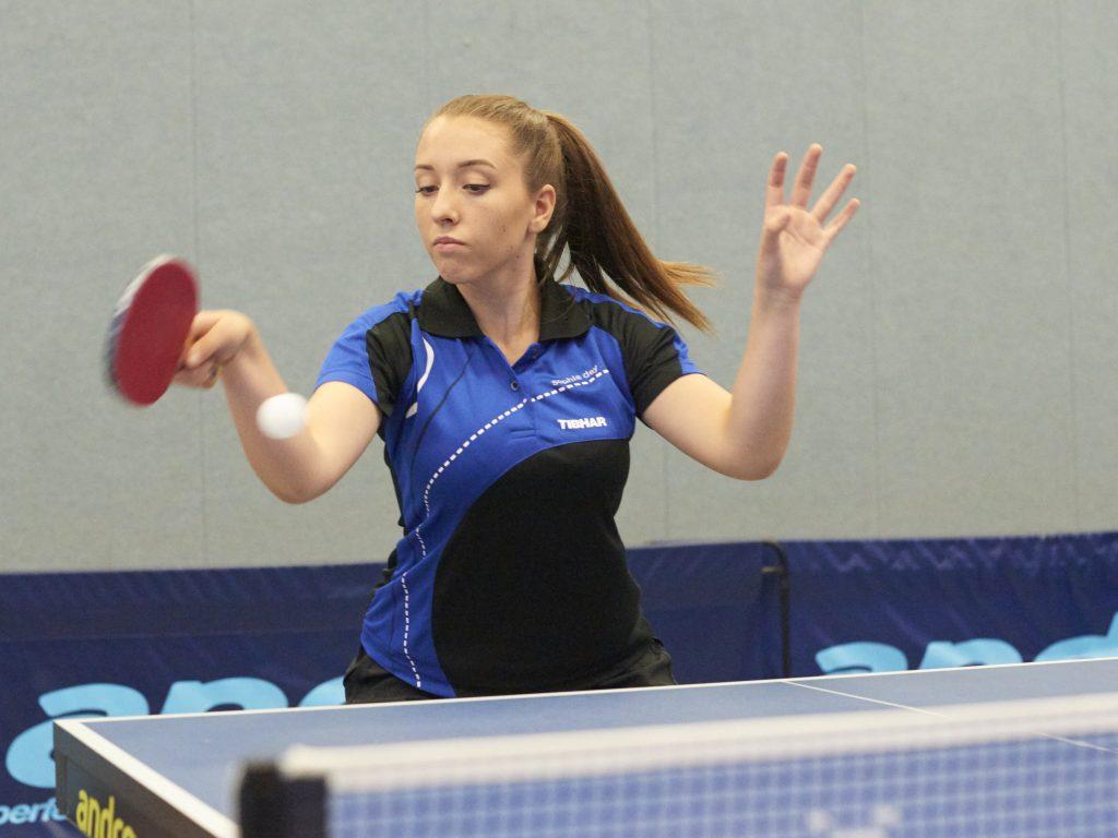 Spitzenspielerin Sophia Dey